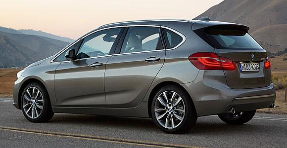 BMW Seria 2 Active Tourer - tylna część nadwozia