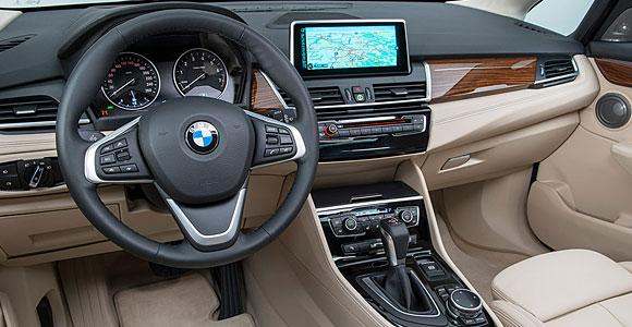 Wnętrze BMW Serii 2 Active Tourer