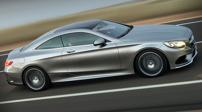 Mercedes Klasy S Coupe – nowe, piękne rozdanie
