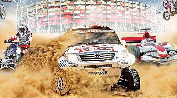 Verva Street Racing 2014 – Dakar na Narodowym. Było fajnie, jednak tym razem mam wrażenie, że coś poszło nie tak…