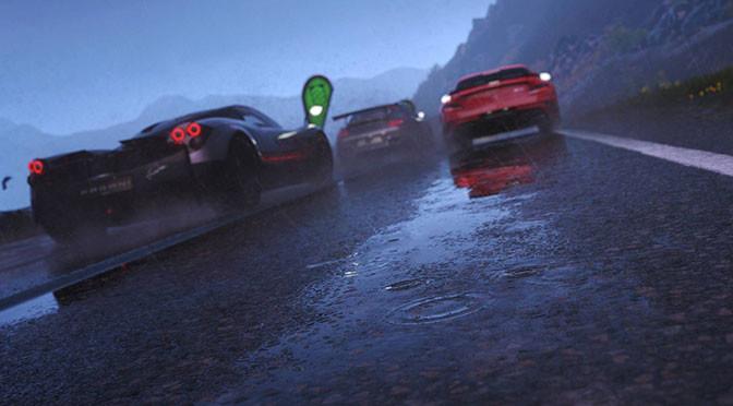 Zmienne efekty pogodowe w DriveClub robią wrażenie