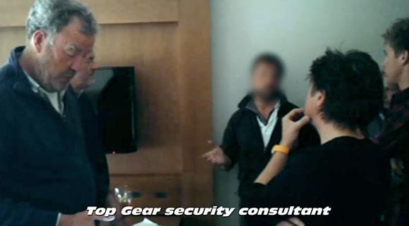 Ekipa Top Gear musiała skorzystać z pomocy konsultanta od spraw bezpieczeństwa