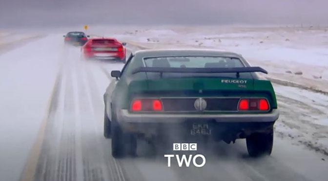 Ekipa Top Gear w górach