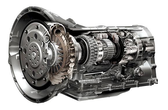 Model budowy automatycznej skrzyni biegów