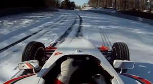 Jazda bolidem po Nurburgring Nordschleife…na śniegu i lodzie? Film pokazuje, że jest to możliwe i na dodatek szalenie efektowne