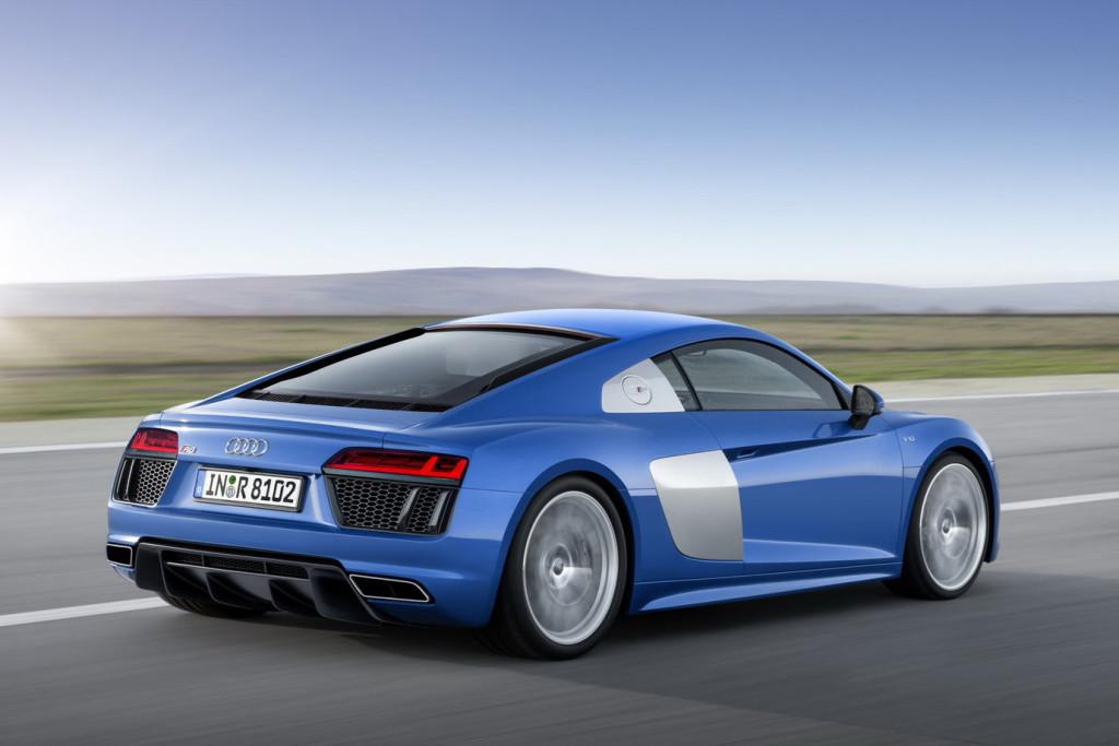 Nowe Audi R8 (2015) - tył