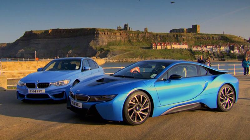 BMW M3 oraz i8 - test i porównanie tych samochodów w Top Gear