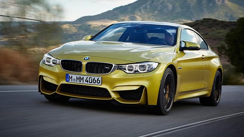 Kolejny test w Top Gear - tym razem BMW M4