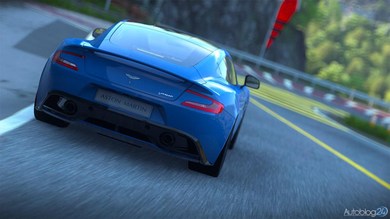 Tryb Zdjęć w DriveClub - Aston Martin Vanquish - tył