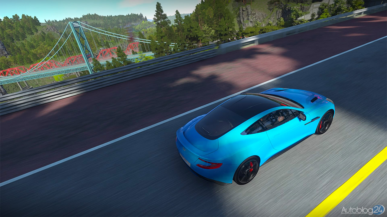 Tryb Zdjęć w DriveClub - Aston Martin Vanquish