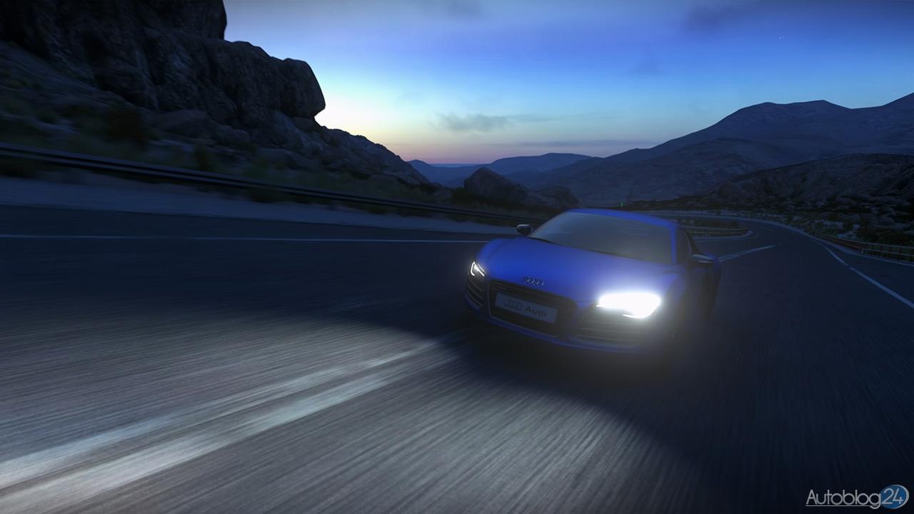 Tryb Zdjęć w DriveClub - Audi R8 - Chile