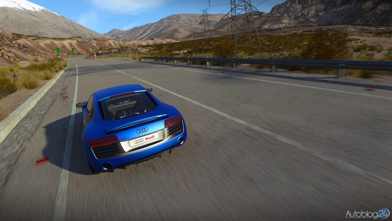 Tryb Zdjęć w DriveClub - Audi R8 - tył