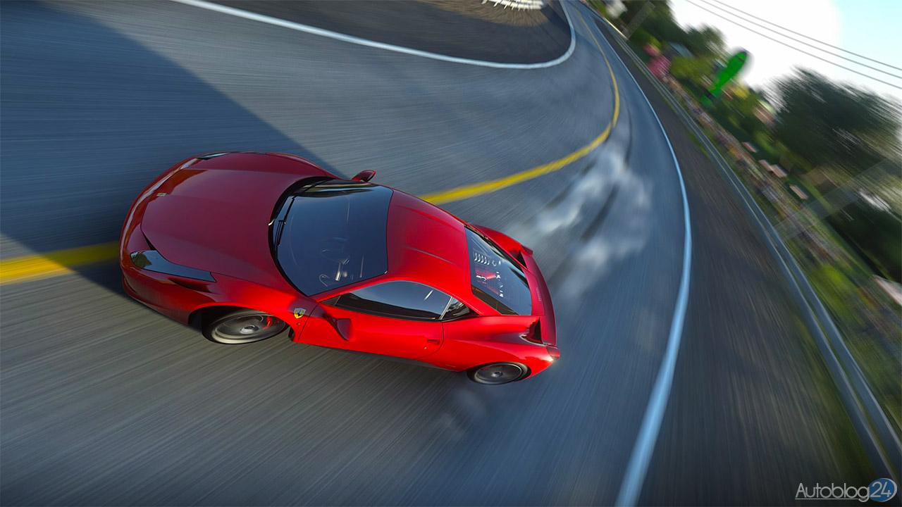 Tryb Zdjęć w DriveClub - Ferrari 458 Italia - drift