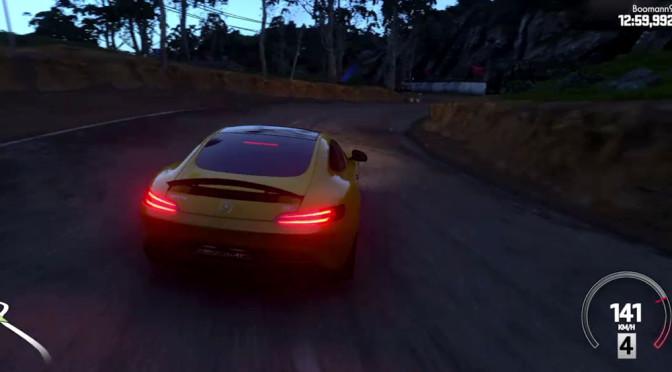 Gameplay z DriveClub x4: piękne samochody (Audi, BMW, Mercedes), malownicze trasy (Szkocja, Indie, Japonia, Norwegia) – jest co oglądać