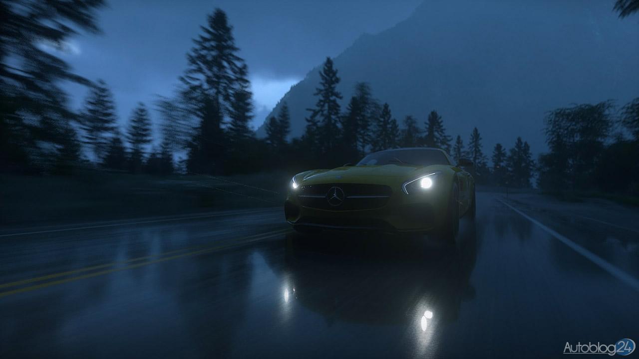 Tryb Zdjęć w DriveClub - Mecedes SLS AMG (przód)