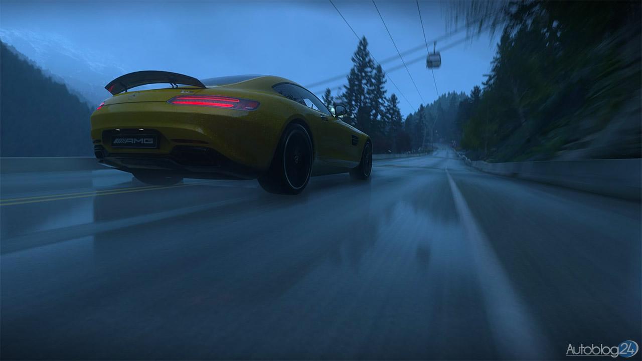 Tryb Zdjęć w DriveClub - Mercedes SLS AMG - tył