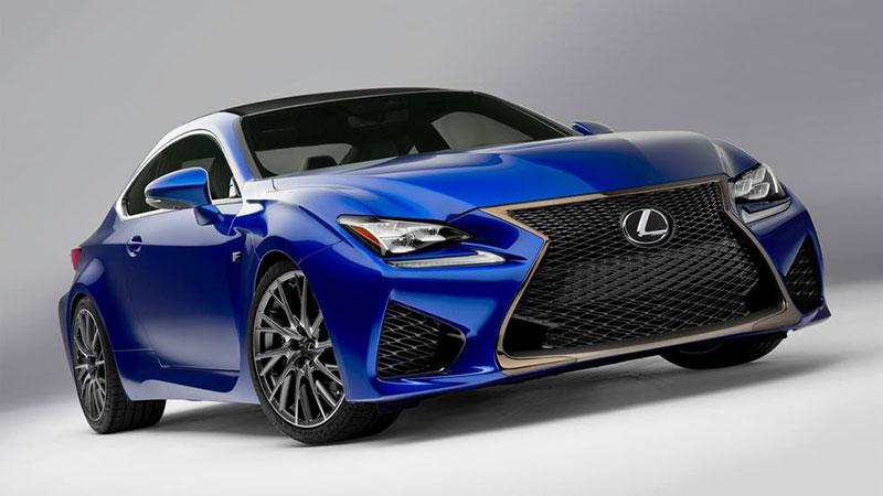 Lexus RC F - jego test znajdziemy w najnowszym odcinku Top Gear