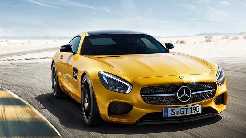 Mercedes-AMG GT również doczekał się testu w Top Gear