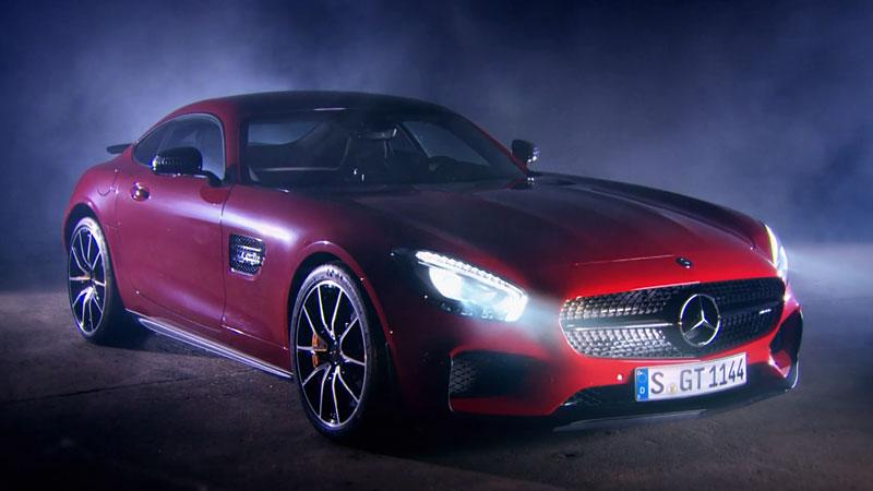 Mercedes-AMG GT S - test w nowym odcinku Top Gear