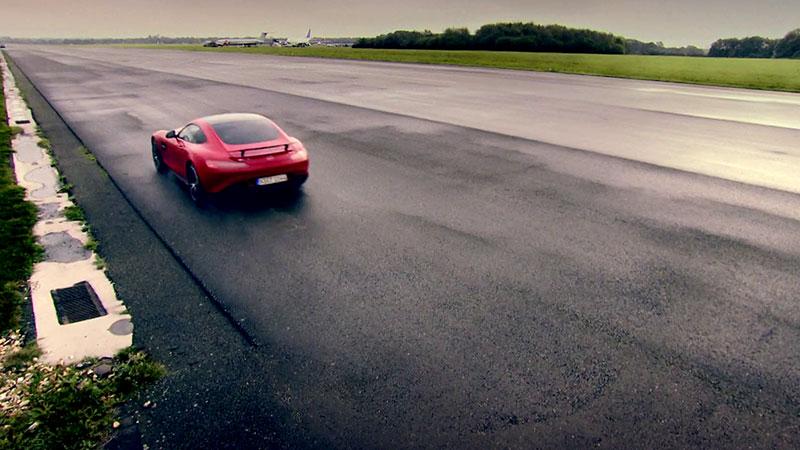 Mercedes-AMG GT na torze testowym Top Gear