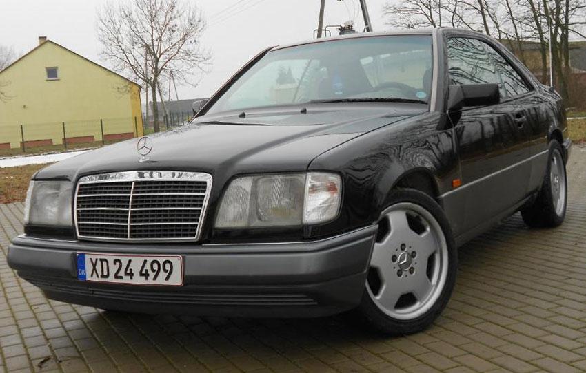 Mercedes W124 E220 wystawiony na sprzedaż