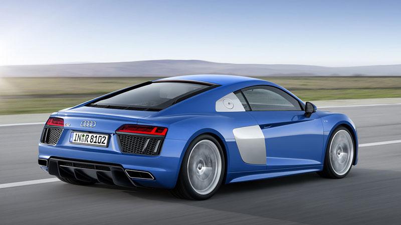 Nowe Audi R8 (2015) z tyłu wygląda naprawdę rasowo