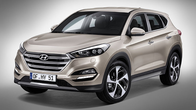 Jak wygląda nowy Hyundai Tucson z przodu