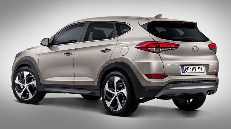 Nowy Hyundai Tucson - galeria tył
