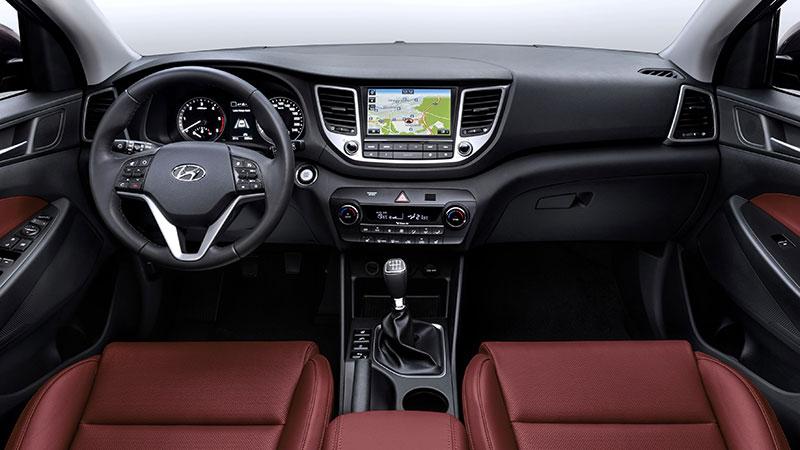 Nowy Hyundai Tucson - wnętrze