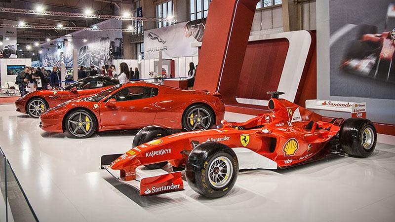 Na Poznań Motor Show nie brakuje pięknych modeli Ferrari