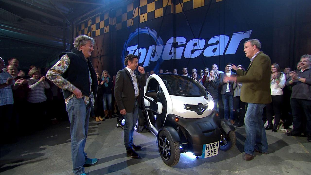 Inauguracja nowego sezonu Top Gear - wyścig miejski