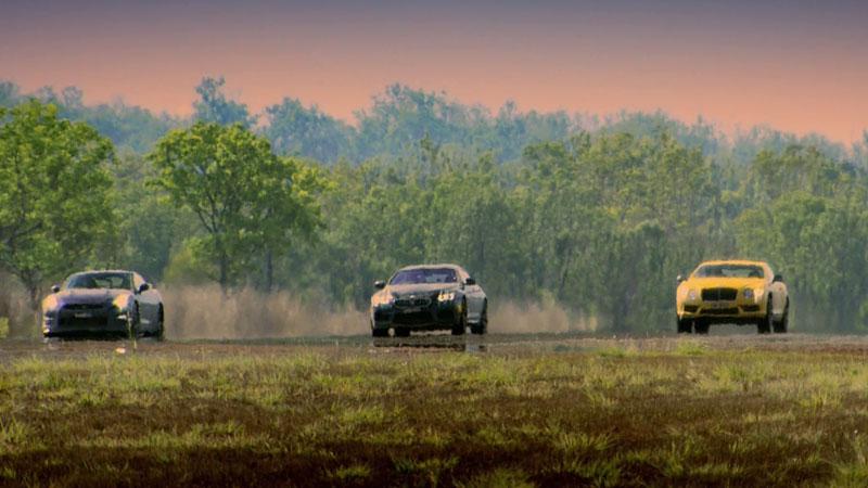 Drag race: Nisssan GT-R, BMW M6, Bentley Continental GT