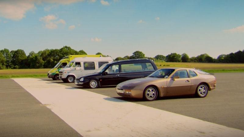 Top Gear S22E03 - tematem odcinka było tworzenie ambulansów