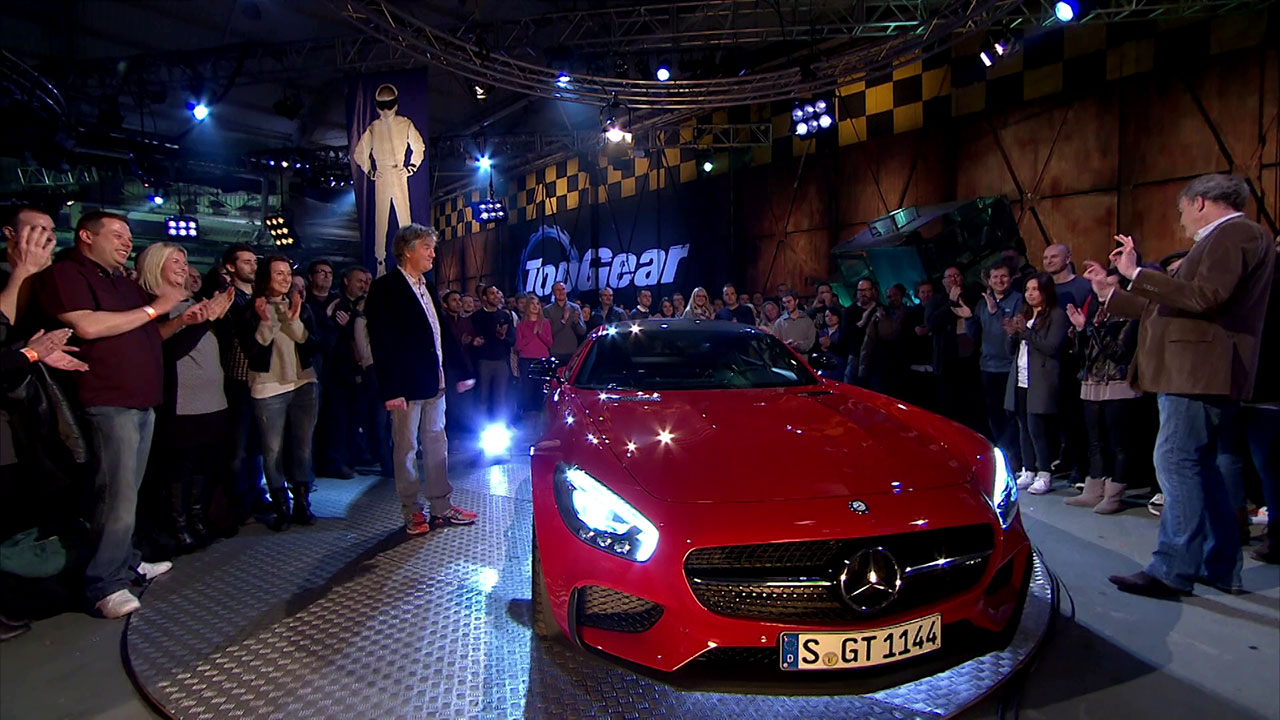 Mercedes-AMG GT w studio Top Gear