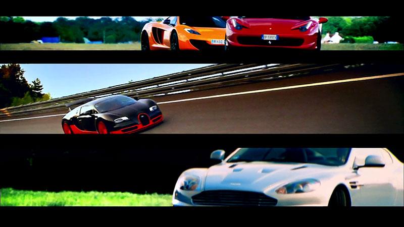 Charakterystyczne intro w Top Gear