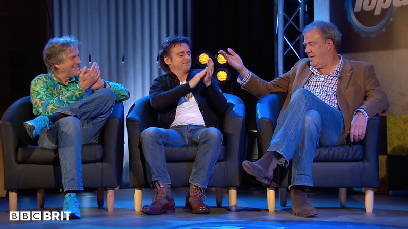 James May, Richard Hammond oraz Jeremy Clarkson