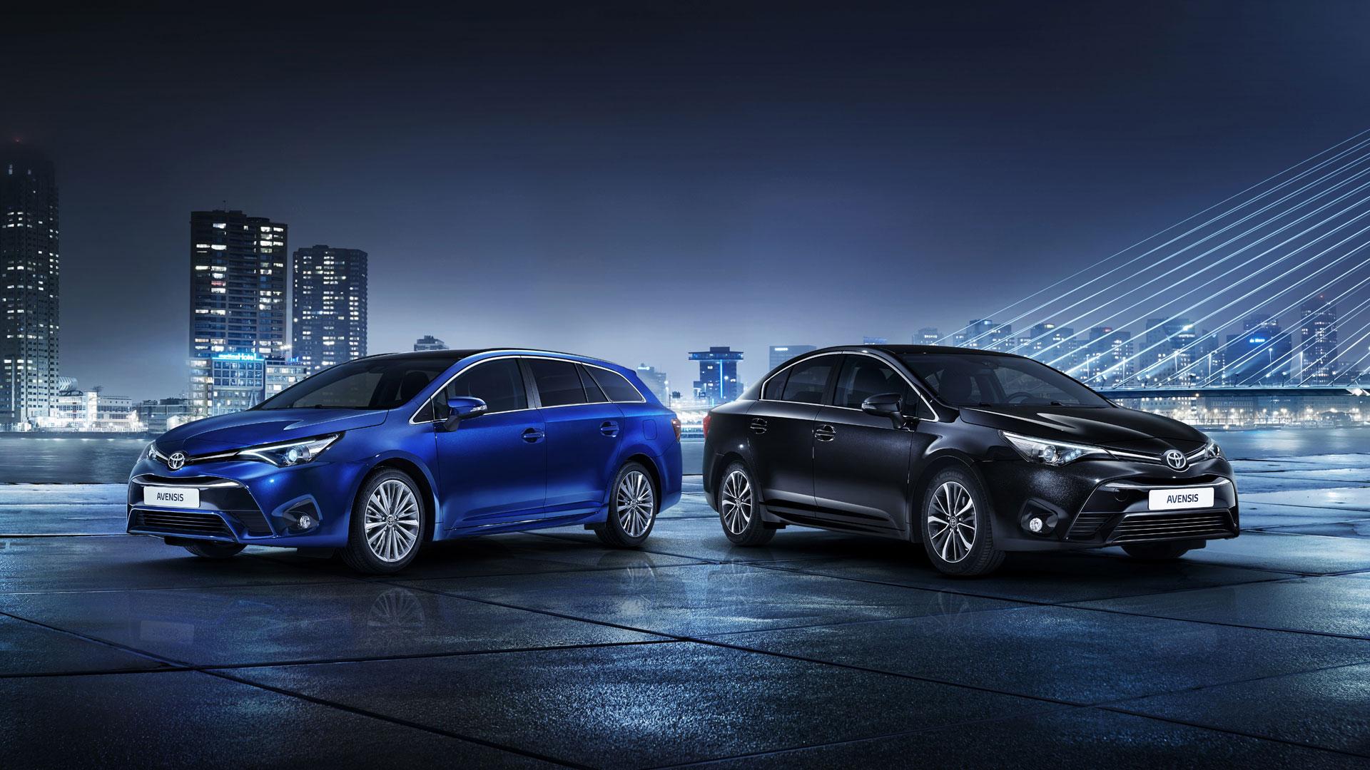 Toyota Avensis - nowa generacja - sedan i kombi