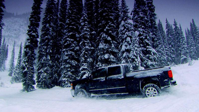 Chevrolet Silverado w Top Gear