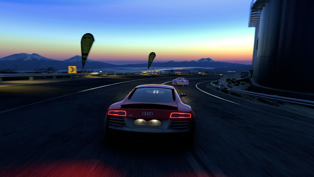 Przejazd Audi R8 w Chile (DriveClub)