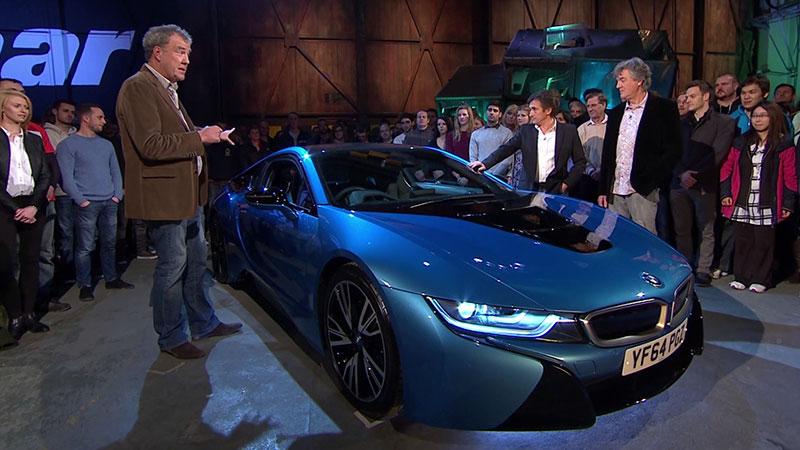 Jeremy Clarkson i jego test BMW i8