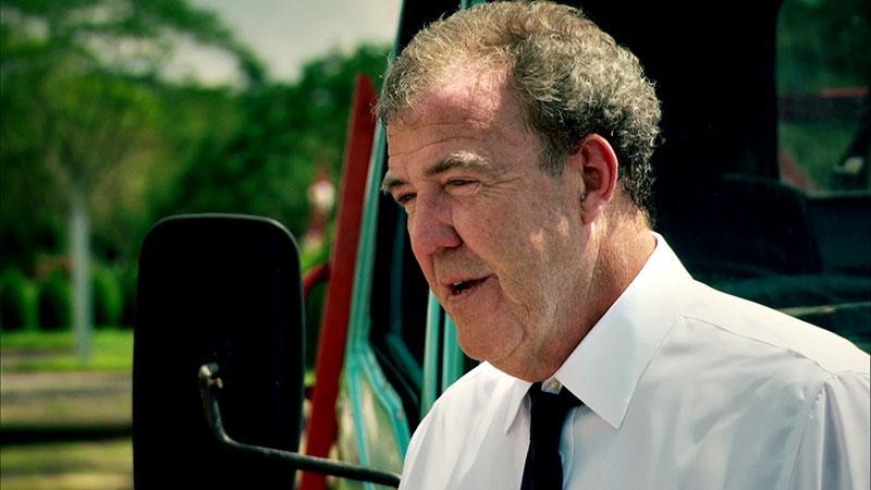 Jeremy Clarkson podczas odcinka specjalnego w Birmie