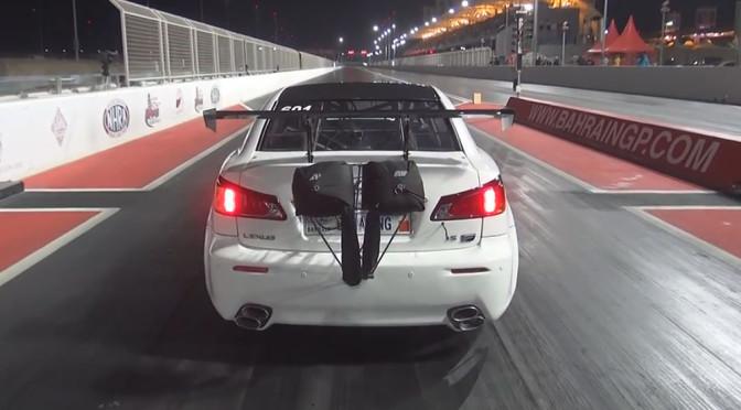 Lexus IS-F – wypadek nagrany na wideo pokazuje, czym kończy się brak odpowiedniej siły docisku przy dużej mocy
