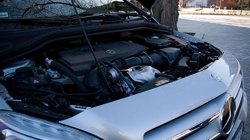 Mercedes - silnik