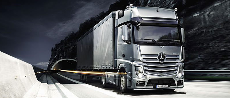 Mercedes Actros - duża ciężarówka