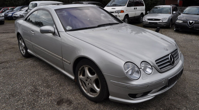 """Wyjątkowy Mercedes CL 600 W215 wystawiony na sprzedaż. Sądzę, że był to naprawdę """"jedyny taki"""" samochód na OtoMoto"""