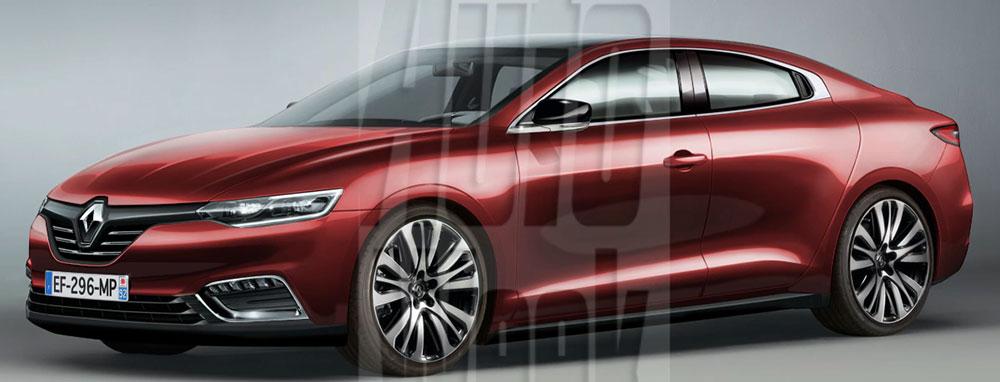 Wizja nowego Renault Laguna IV wygląda bardzo ciekawie