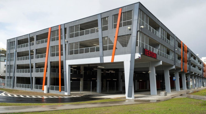 Nowy parking na Ursynowie otwarty – P+R Stokłosy wygląda naprawdę świetnie