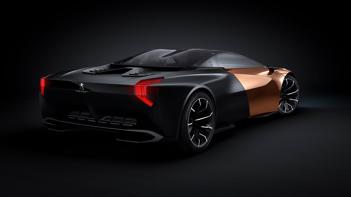 Koncept Peugeota - model Onyx - tył
