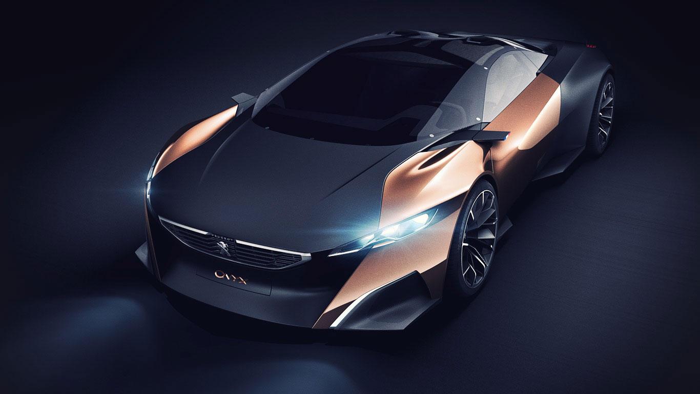 Samochód koncepcyjny marki Peugeot - Onyx