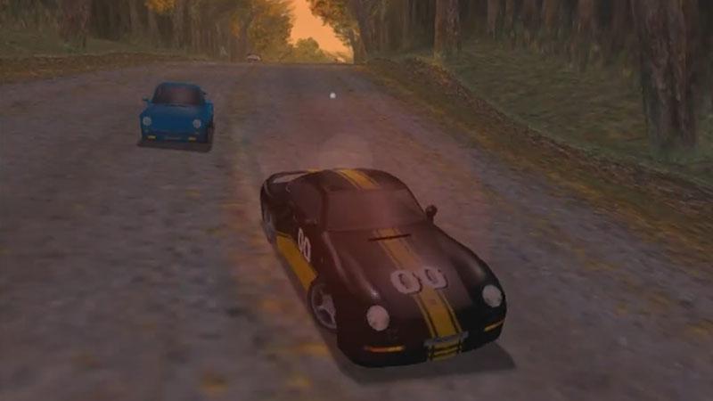 Porsche 959 na trasie Normandie